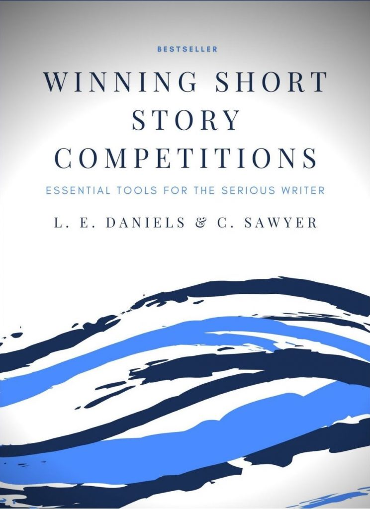 Front cover of Winning Short Story Competitions by L. E. Daniels and Cate Sawyer.